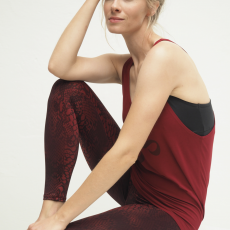 Kismet Ganga Leggings Grape Snake
