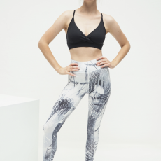 Kismet Leggings 7:8 caribbean black:white 1