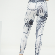 Kismet Leggings 7:8 caribbean black:white 2