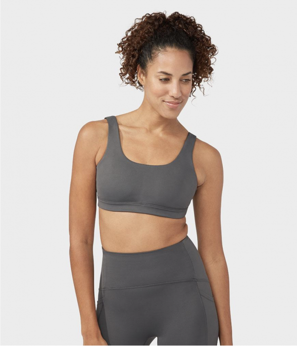 Manduka Pro Bra Double Strap New Grey